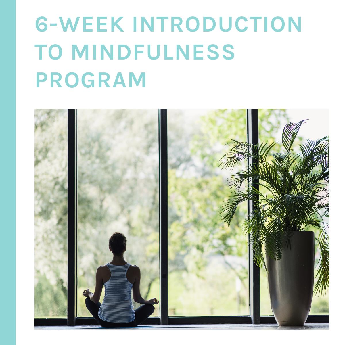 6-Week introduction to Mindfulness Program