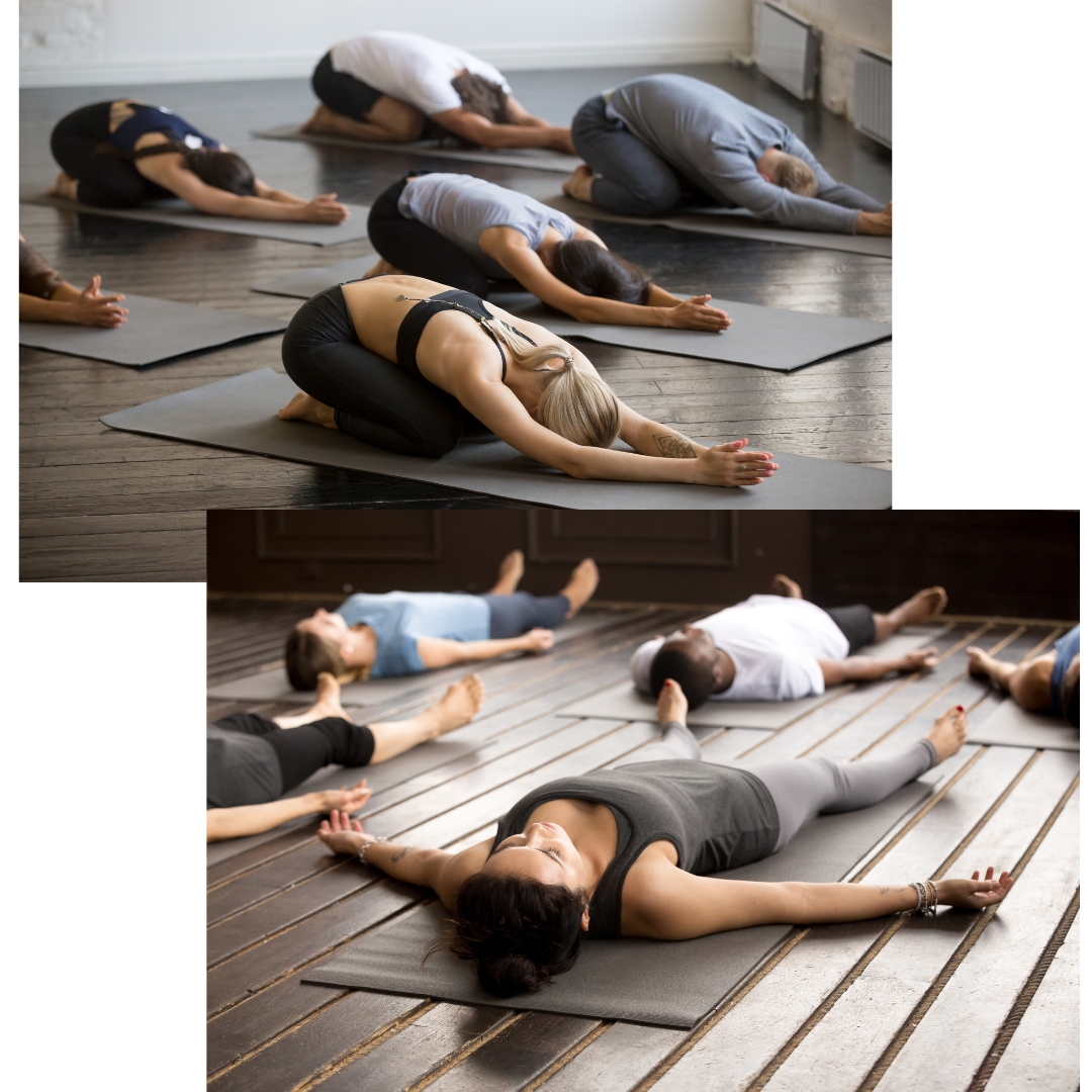 Tame anxiety with yoga